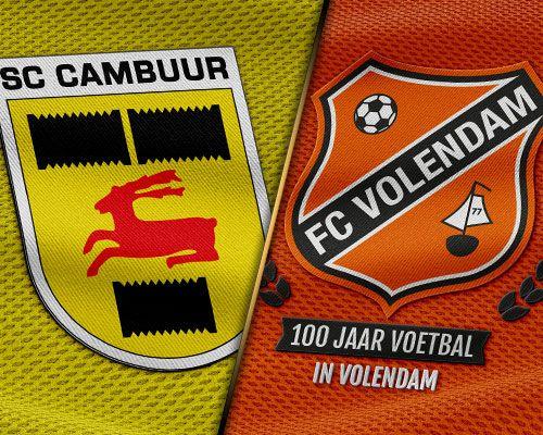 FC Volendam wil op herhaling in Leeuwarden