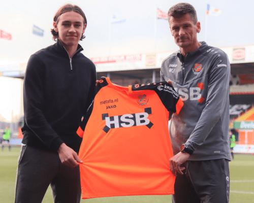 FC Volendam beloont ontwikkeling Josh Flint met contract