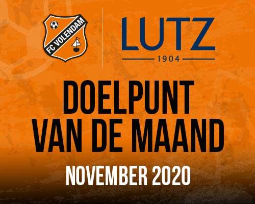 Lutz Doelpunt van de maand november; kies jouw favoriet