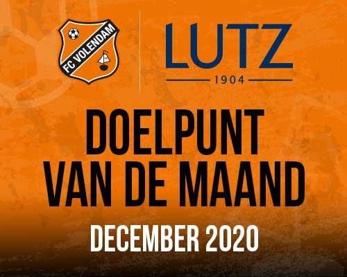 Fans bepalen Lutz Doelpunt van de maand december