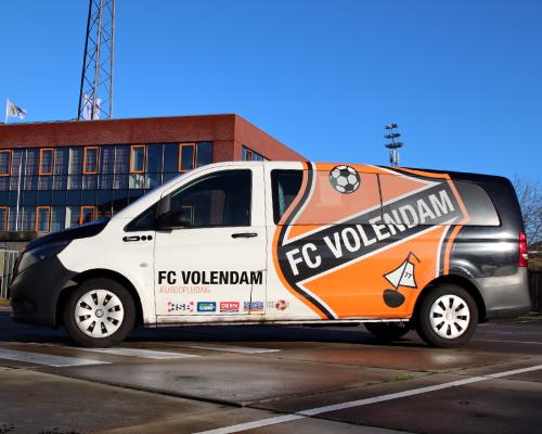 FC Volendam zoekt chauffeurs voor de jeugdbusjes