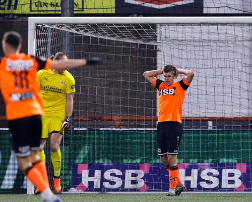 FC Volendam verliest ongelukkig van PSV