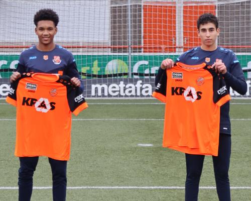 De Volewijckers-talenten Wouter en El Idrissi gaan voor kans bij Jong FC Volendam