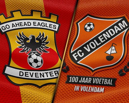 FC Volendam mikt op eerste winst in dertien jaar bij Go Ahead Eagles