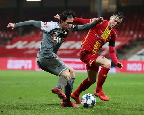 FC Volendam grijpt belangrijke zege in Adelaarshorst