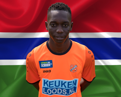 Malick Lowe (O18) met Gambia O20 actief op Africa Cup of Nations
