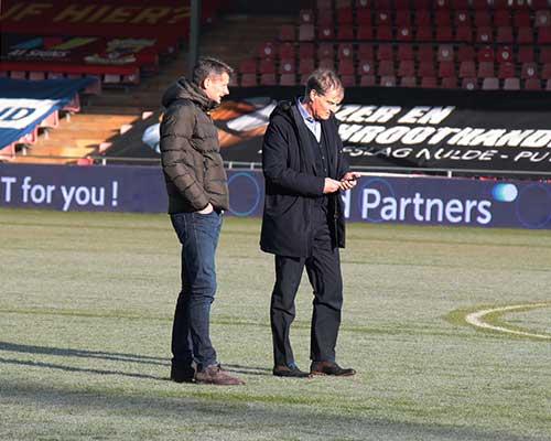 Go Ahead Eagles - FC Volendam afgelast