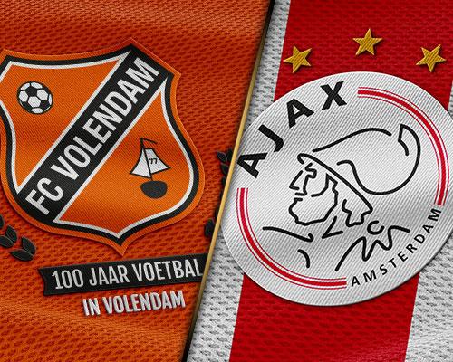 Volendamse batterijen opgeladen voor Jong Ajax