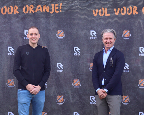 Samenwerking Robey en FC Volendam officieel beklonken