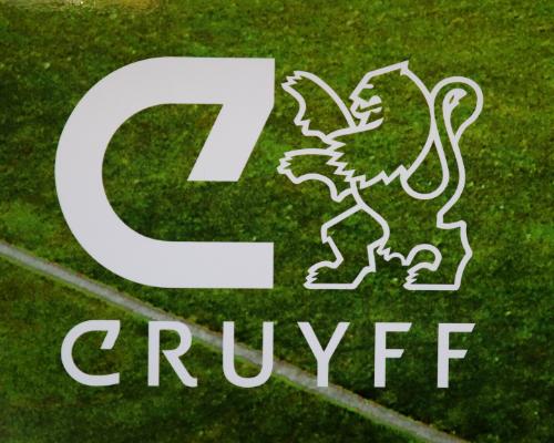 Cruyff levert tactiekwand in vernieuwde trainerskamer