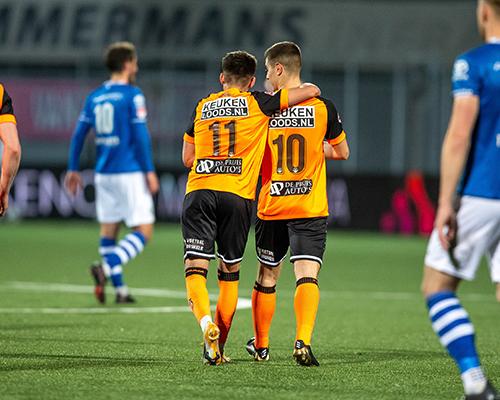 FC Volendam beloont zichzelf in Den Bosch en wint ruim