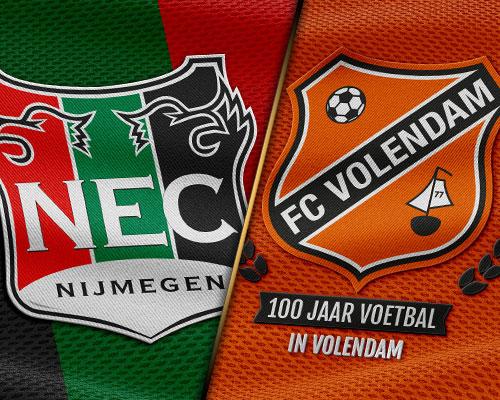 FC Volendam mikte op einde aan 30 jaar lange droogte in Nijmegen