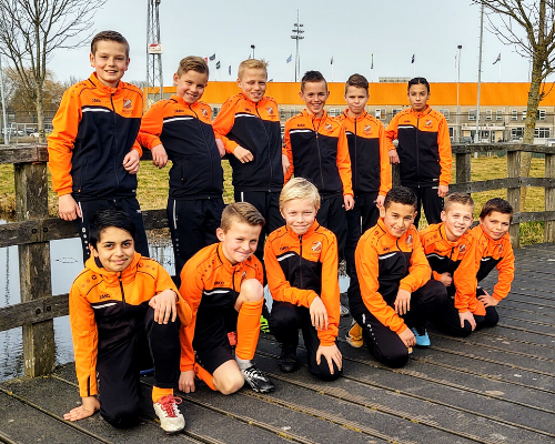 8 spelers van RKAV Volendam naar FC Volendam O12; eerste tastbare succes Voetbal Volendam