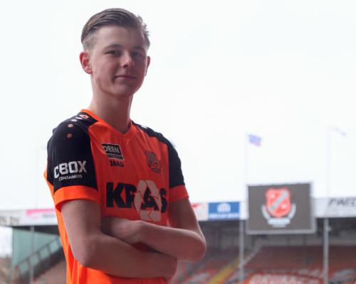 Boomlange spits Milan Zonneveld vergroot aanvallende impulsen Jong FC Volendam