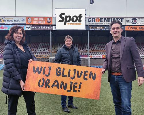 Ook SPOT ICT blijft achter FC Volendam staan: 'Laagrempelig, flexibel en toegankelijk'