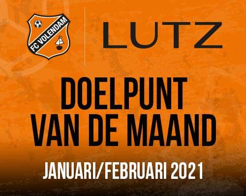 Doelpunt Van De Maand - januari/februari 2021