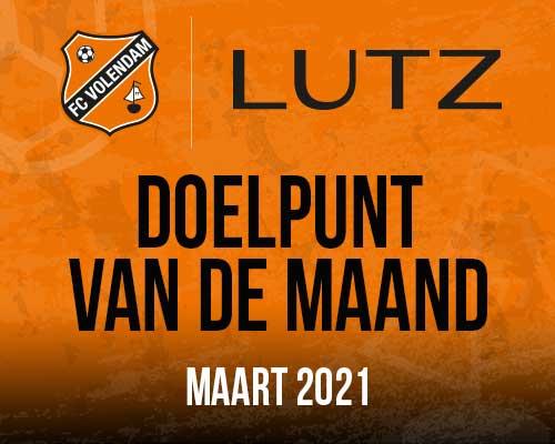 Lutz Doelpunt Van De Maand | maart 2021