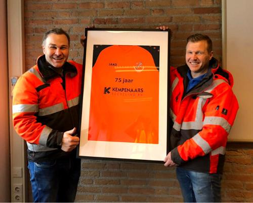 Kempenaars Recycling houdt relatie met FC Volendam levendig