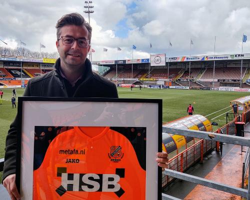 LEF en FC Volendam gaan samenwerken; bubbelvoetbal als aftrap