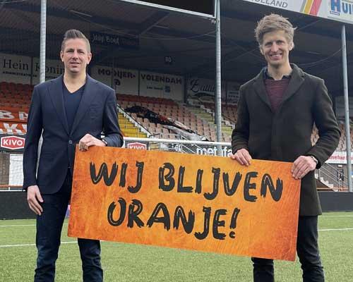 FC Volendam en Smit Bokkum hebben beet met verlengde samenwerking