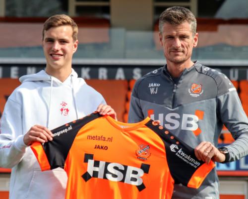FC Volendam beloont ontwikkeling Calvin Twigt met contract