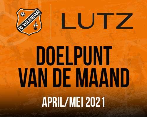 Stem op het LUTZ Doelpunt van de maand | april & mei 2021