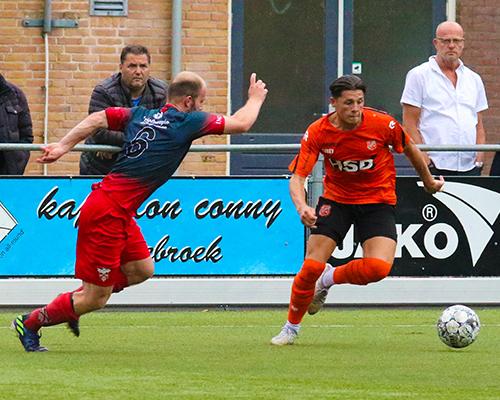 Jong FC Volendam wint nipt van V.V. De Zouaven