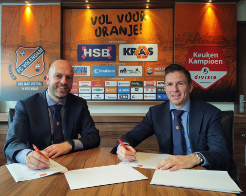 Mike Tol ook komend seizoen commercieel manager FC Volendam