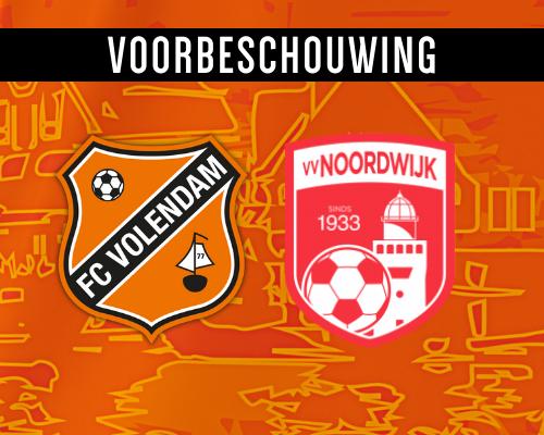 Revanche tegen Noordwijk lonkt voor Jong FC Volendam