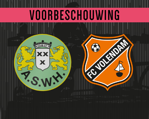 Jong FC Volendam richting Hendrik-Ido-Ambacht
