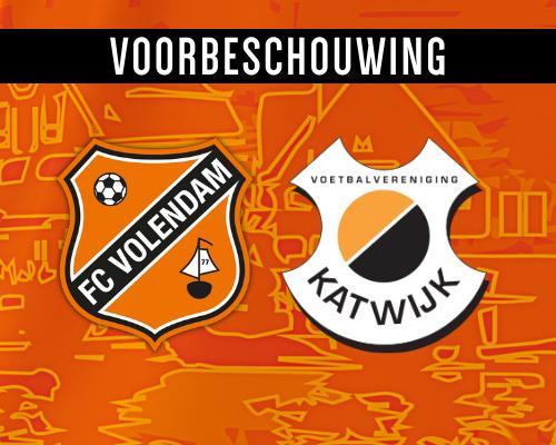 Jong Volendam klaar voor kraker tegen Katwijk