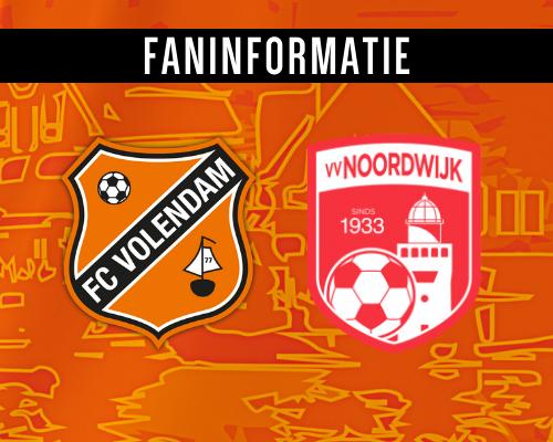 Fan-en persinformatie Jong FC Volendam - Noordwijk