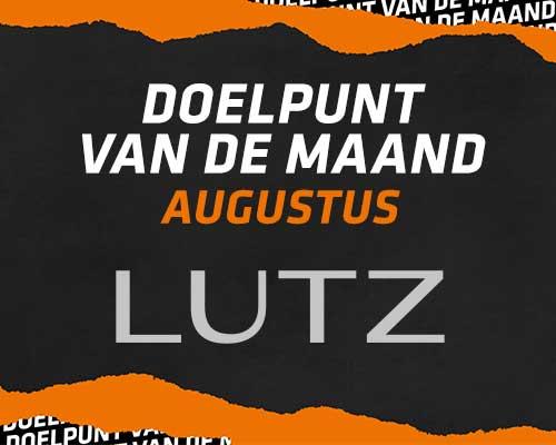 Stem op het LUTZ Doelpunt van de maand   augustus 2021