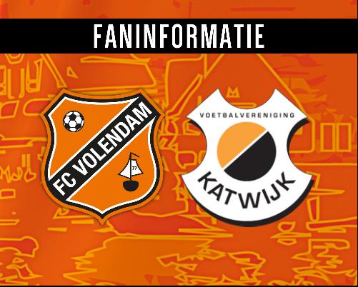 Fan- en persinformatie Jong FC Volendam - VV Katwijk
