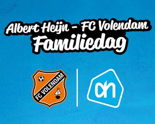 AH-FC Volendam Familiedag in het Kras Stadion; kom gratis langs!