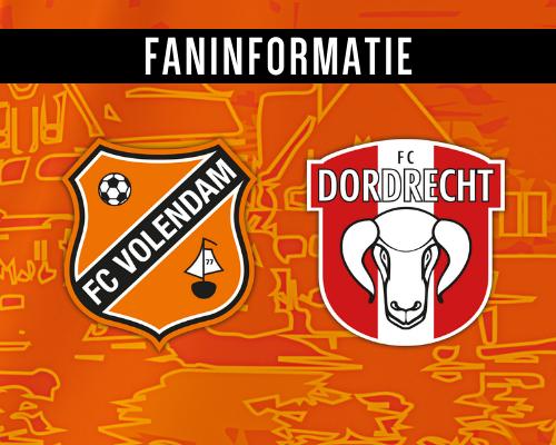 Ticketverkoop FC Dordrecht-thuis van start; alle fan-informatie op een rijtje