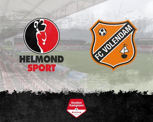 Informatie kaartverkoop Helmond Sport - FC Volendam
