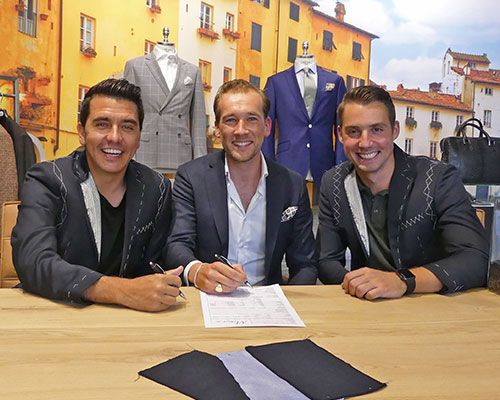 Misura Sartoria official business supplier van FC Volendam