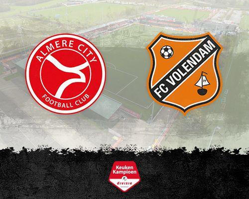 Informatie kaartverkoop Almere City - FC Volendam