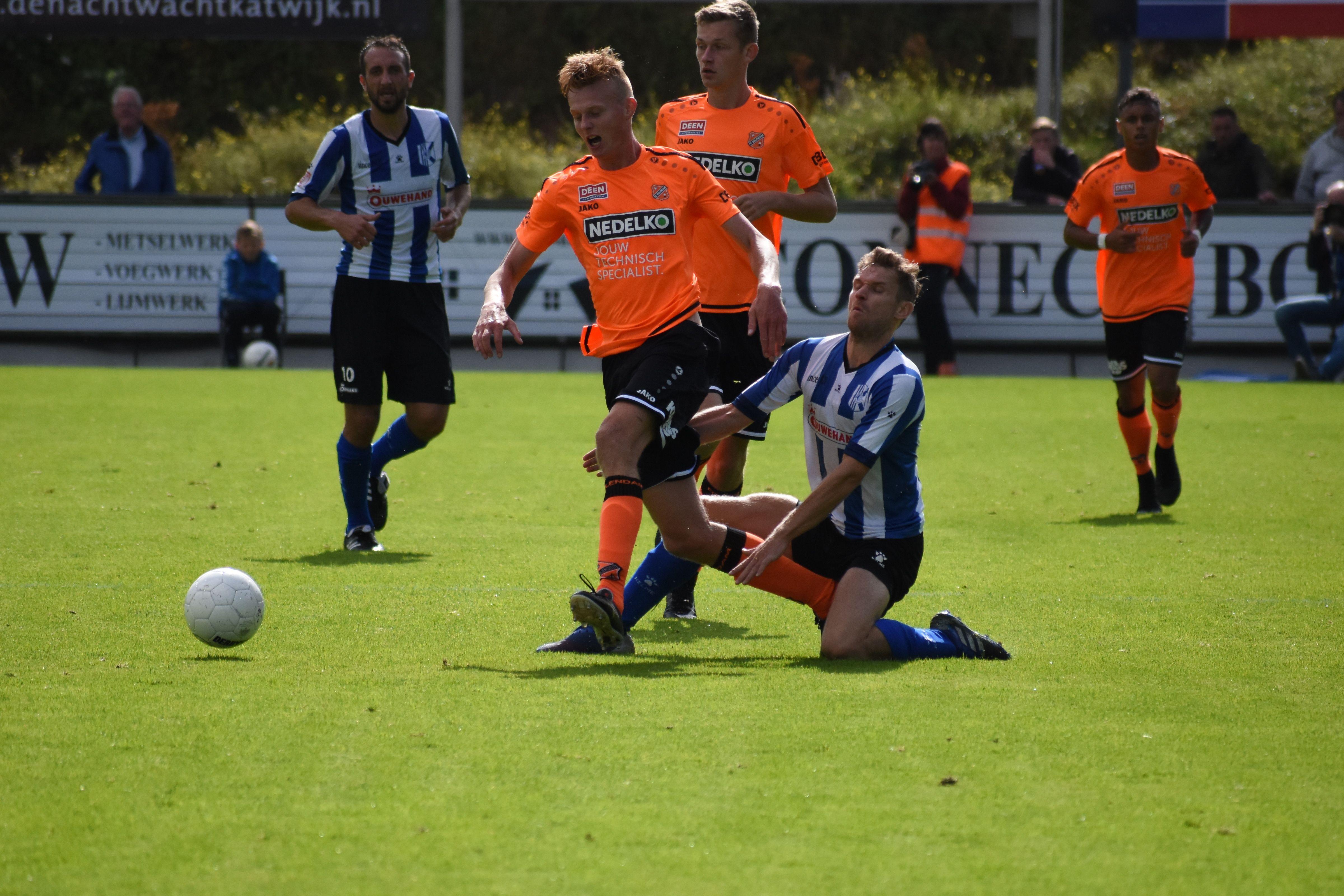 Jong FC Volendam blijft puntloos op vreemde bodem