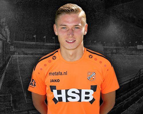 FC Volendam versterkt zich met Jelle Duin
