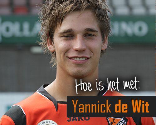 Hoe is het met: Yannick de Wit?