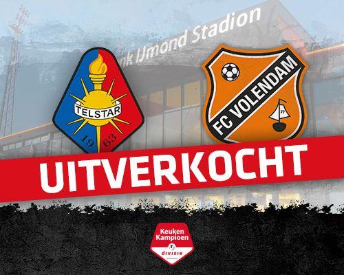 Informatie kaartverkoop Telstar - FC Volendam (Uitverkocht)