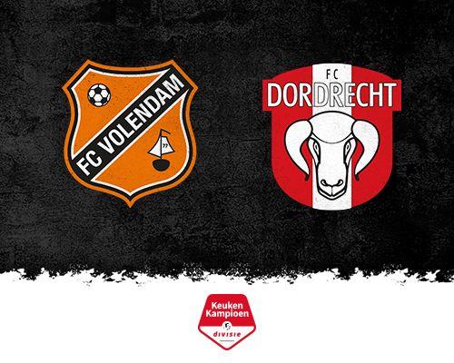 FC Volendam heeft wat goed te maken tegen FC Dordrecht