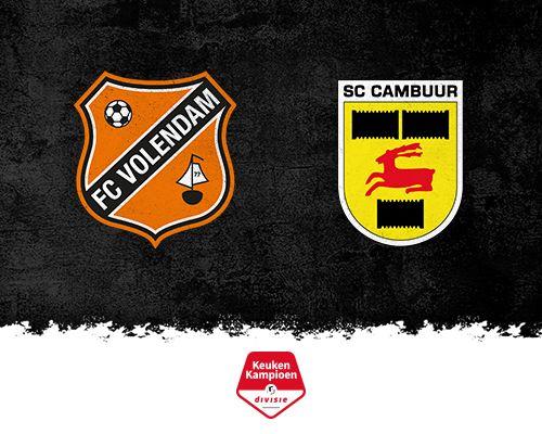 FC Volendam verdedigt ongeslagen thuisstatus tegen gretig SC Cambuur