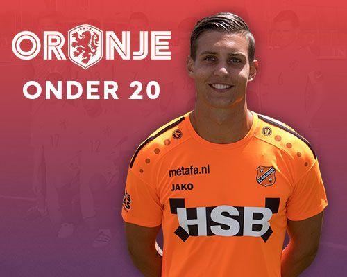 Mike Eerdhuijzen opgenomen in voorselectie Oranje O20