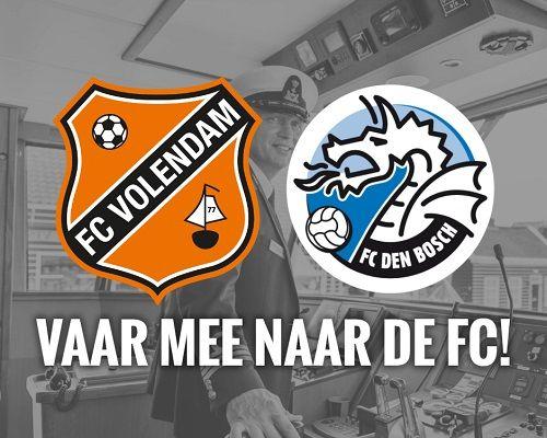 Monnickendam en Marken varen mee naar de FC!