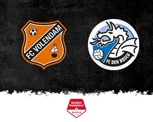 FC Volendam op zoek naar eerherstel tegen FC Den Bosch