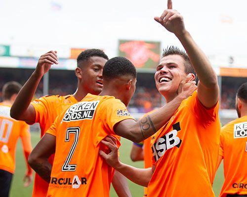 Ruststand bij FC Volendam - FC Den Bosch: 1 - 0