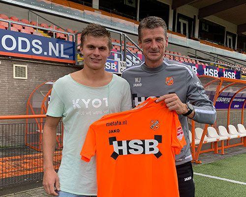 Alex Plat twee jaar langer bij FC Volendam